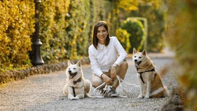 Andrea, Kasia e Balto