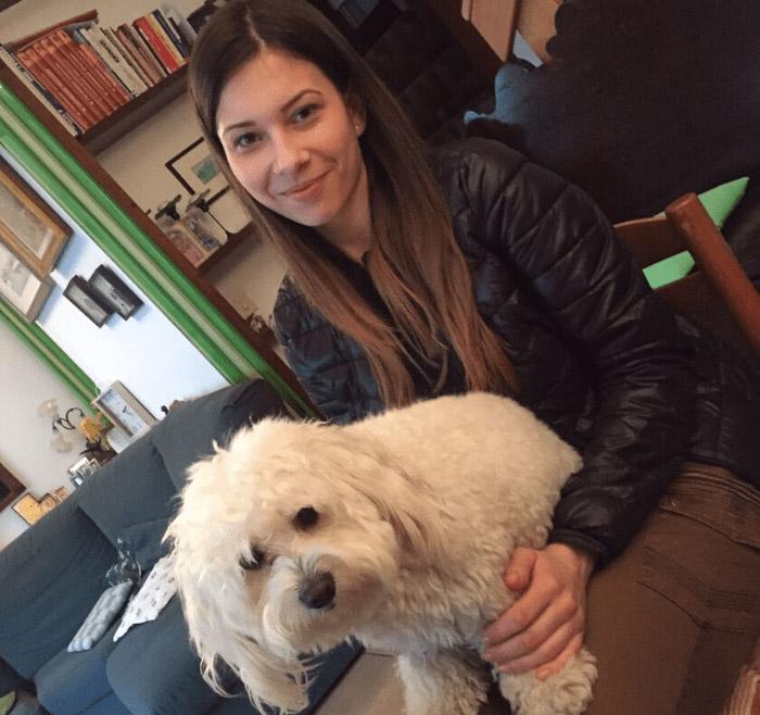Andrea con Ciccio